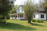 Farm House on large property near Keene/Lang for Rent