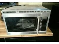 Steam oven and combination grill, freestanding