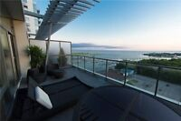Penthouse at TIP TOP LOFTS! Furnished W/Lake Views.