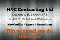 H&C Contracting Ltd. FLOORING, CUSTOM FINISHING