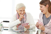 HomeCare for senior – Caregiver / Companionship - Moncton