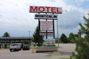 """Motel Montcalm"" - Well Maintained 65 Unit Motel Plus Commercial"