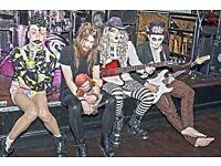 OTT punk/metal band TEXAS CHAINSAW MASCARA need a flamboyant singer !!!