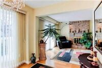 Very Bright 3 Bedroom House in Main St. Markham Rd / Hwy 7