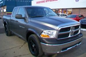 ** AFTERMARKET RIMS! ** 2012 DODGE RAM 1500 ** 4X4 ***