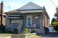 GTA. DETACHED BRICK BUNGALOW. GOOD LOCATION. CLOSE TO TTC.