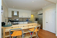 Downtown Toronto Beaches - 3 bed / 3 bath for Rent