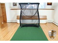 NetReturn Mini Pro Golf Package - ideal for SkyTrak