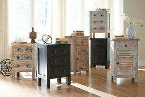 New Charlowe Rustic Accent Tables