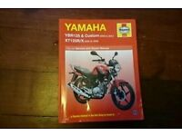 Haynes manual for yamaha YBR & Custom XT125/X