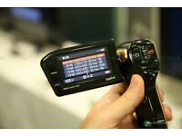 Lovely Full HD Camcorder and Camera, Lovely Ergonomical Design, Fits Beautifully in Hand or Pocket