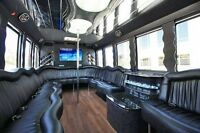 Party Limo BUs for wedding 25% off now