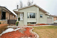 3+1 Bdrm Bungalow In The Guildwoods Area. Lovely Home.