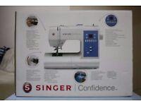 New in Box, Unused Singer Confidence 7465 computerised sewing machine