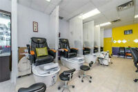 BE YOUR OWN BOSS - GREAT NAIL AND SPA SALON FOR SALE Watch|Share