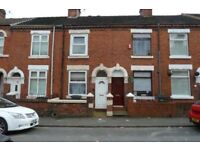 2 Bed Terrace Grove Street, ST6 2JA. Walking distance to Asda and Town Centre.