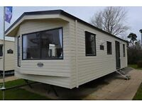 6 berth, 2 bedroom modern Static caravan for rent during 2017 at 5 star Haven, Rockley Park, Dorset