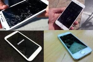 [ SAMSUNG GALAXY & APPLE iPHONE/iPAD REPAIR ] - CRACKED SCREEN, CHARGING PORT, CAMERA, BATTERY, UNLOCK + MORE