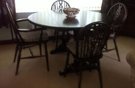 Repro dining suite by Priory