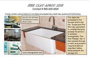 fire clay sink for kitchen Oakville / Halton Region Toronto (GTA) image 2