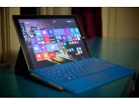 Microsoft Surface Pro 3 - i3 Processors - 64GB - with Keyboard and Stylus Pen