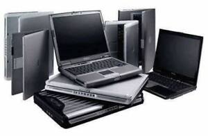 Paying cash for used and broken laptops