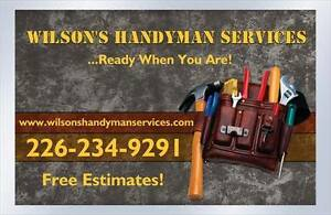 Home Repair Person Available