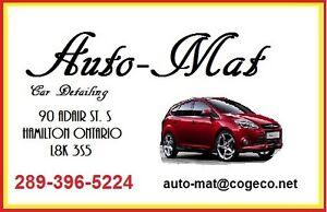 Auto-Mat Car Detailing Fall wax and polish