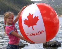 Canada Beach Balls for sale, free delivery in Thunder Bay