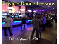 Dance lessons (private)for Tango, Salsa and more