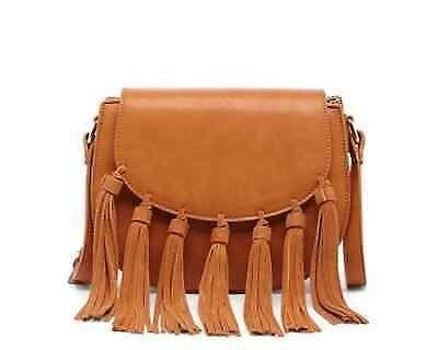 SOLE SOCIETY 'Exie' mini fringe shoulder bag