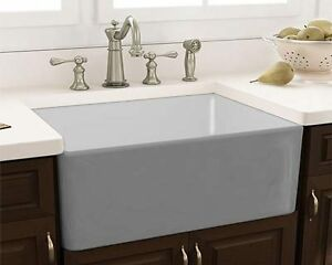 Farmhouse Apron Sink (Fireclay)