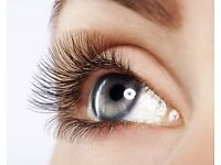 Eyelashes extension one by one !