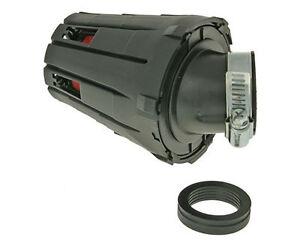 Piaggio Zip 50cc TT AC 92-94  45° 28/35mm Racing Air Filter Red