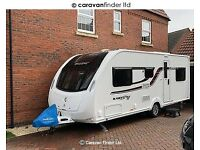 Swift Freestyle S6TD Caravan immaculate, full service record, 6 yr warranty with Lowdhams