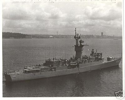 U.S.S. LANG  DE-1060  8 X 10  photo