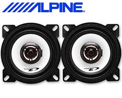 ALPINE SXE-1025S COPPIA ALTOPARLANTI COASSIALI 10cm 2 vie 180W > GARANZIA