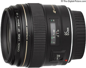 Canon EF 85mm F1.8 lens NEW IN BOX