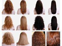 Brazilian blow dry keratin smoothing treatment £50 long hair!
