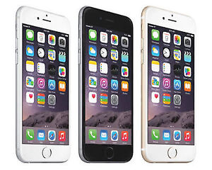 iPhone 6 16gb GSM Unlocked Smartphone in Gold, Silver black