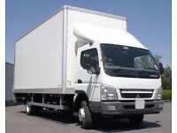 24/7 SHORT NOTICE BIG LUTON VAN HIRE MAN AND VAN MOVING SERVICE HOUSE OFFICE MOVERS BIKE RECOVERY