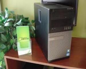 3rd Generation intel i7 Quad Core 3570 Gaming 16gig Ram Dell 2000gb HDD USB 3.0 Windows10 Wireless Intel HD Graphic $400