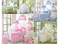 Girls cot capony pink and stand
