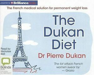 The Dukan Diet by Dr Pierre Dukan (CD-Audio, 2013)