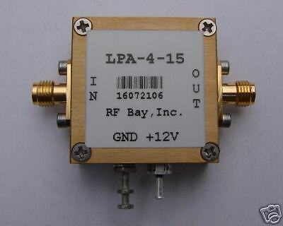 100-5000mhz Wideband Rf Amplifier Lpa-4-15 New Sma