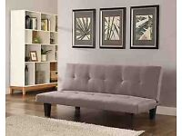 Stylish Taupe sofa bed RRP £98