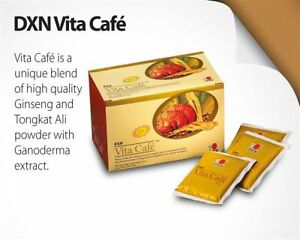 DXN Vita Cafe 6 in 1 with Ganoderma extract (20 sachets x 21g)