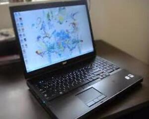 "Gaming Quad Core i7 Intel 20gb Ram 750GB HDD 15.6"" Win 10 Dell Precision WiFi Laptop 2gb Nvidia Graphics $500"