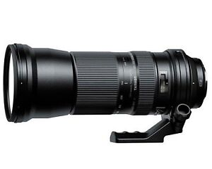 Objectif Tamron 150-600mm F5-6.3 USD pour Canon.
