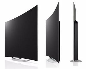 "LG 55EC9300_256 55'' Class (54.6"" Diagonal) Curved OLED TV w/Pixel Dimming, Life-Like Colour"